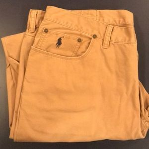 Ralph Lauren Polo pants, Men's Size 38W 32L, Tan